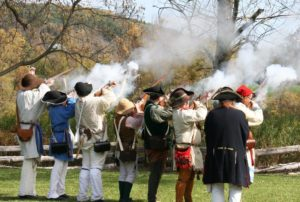 Revolutionary War Tryon County Militia Encampment and Drill Demonstrations @ The Old Stone Fort Museum | Schoharie | New York | United States